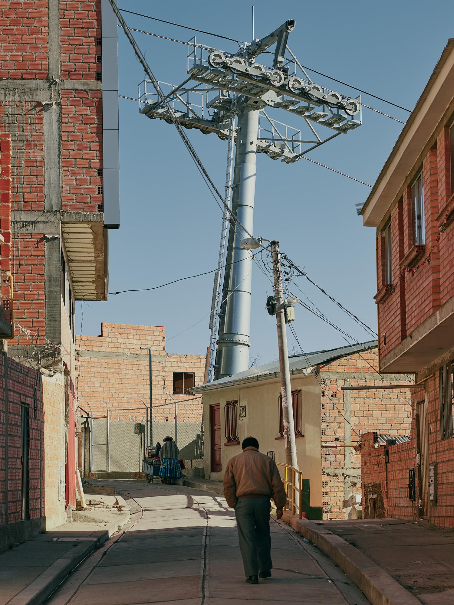 El alto, bolivia townscape
